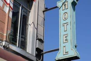 Hôtel, Inscrivez Vous, San Francisco, Publicité, Néon