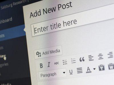 Ecrire un blog